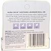 Aura Cacia, رول العلاج بالروائح، اللافندر المهدئ، 0.31 أونصة (9.2 مل)
