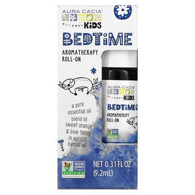 Aura Cacia Kids, Bedtime Aromatherapy Roll-On, 0.31 fl oz (9.2 ml)