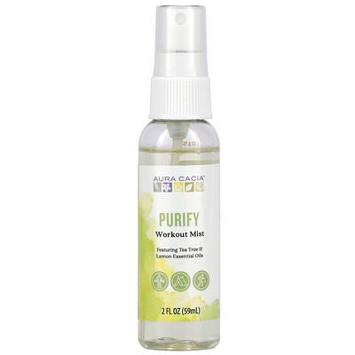 Aura Cacia Workout Mist, Purify, 2 fl oz (59 ml)