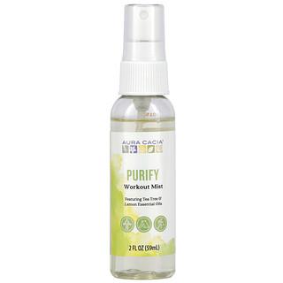 Aura Cacia, Workout Mist, Purify, 2 fl oz (59 ml)