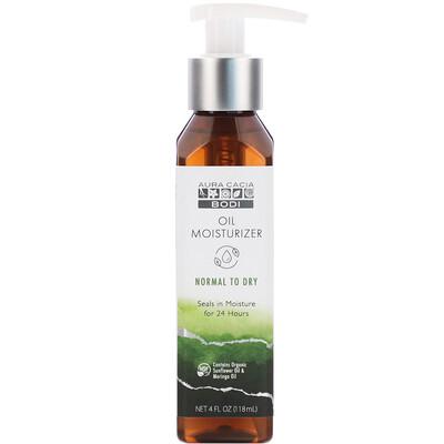 Купить Aura Cacia Bodi, Oil Moisturizer, Normal to Dry, 4 fl oz (118 ml)