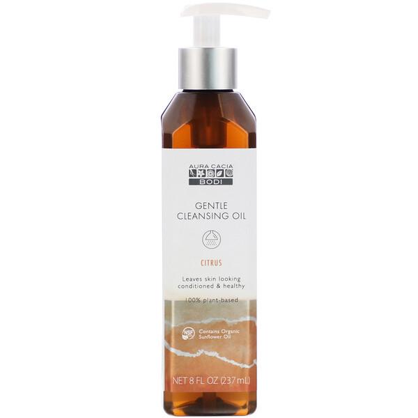 Gentle Cleansing Oil, Citrus, 8 fl oz (237 ml)
