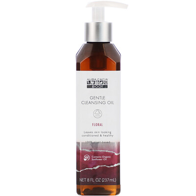 Купить Aura Cacia Gentle Cleansing Oil, Floral, 8 fl oz (237 ml)
