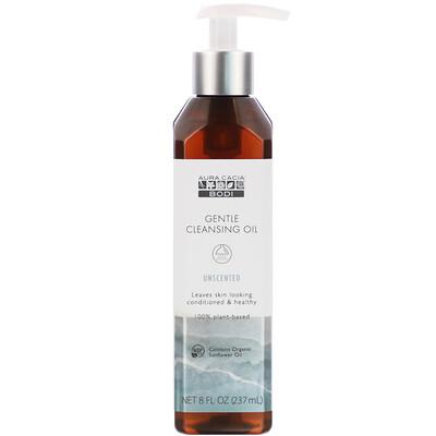 Купить Aura Cacia Gentle Cleansing Oil, Unscented, 8 fl oz (237 ml)