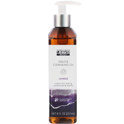 Купить Aura Cacia Gentle Cleansing Oil, Lavender, 8 fl oz (237 ml)