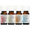 Aura Cacia, Journey To Diffusion Kit, Essential Oils, 4 Bottles, 0.25 fl oz (7.4 ml) Each