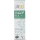 Отзывы о Aura Cacia, Organic Soothing Tamanu Facial Oil Serum, Lavender & Tea Tree, 1 fl oz (30 ml)