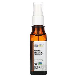 Aura Cacia, Skin Care Oil,  Organic Macadamia, 1 fl oz (30 ml)