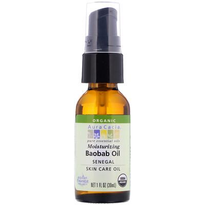 Organic Baobab Oil, Skin Care 1 fl oz (30 ml)