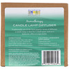 Aura Cacia, Aromatherapy Candle Lamp Diffuser, 2 Piece