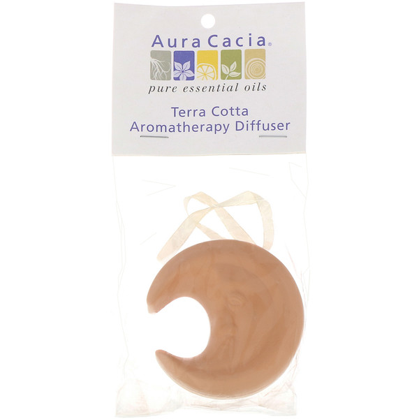 Aura Cacia, Terra Cotta Moon Aromatherapy Diffuser (Discontinued Item)