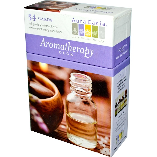 Aura Cacia, Aromatherapy Deck, 54 Cards (Discontinued Item)