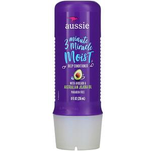 Aussie, 3 Minute Miracle, Moist Deep Conditioner, with Avocado & Australian Jojoba Oil, 8 fl oz (236 ml) отзывы покупателей