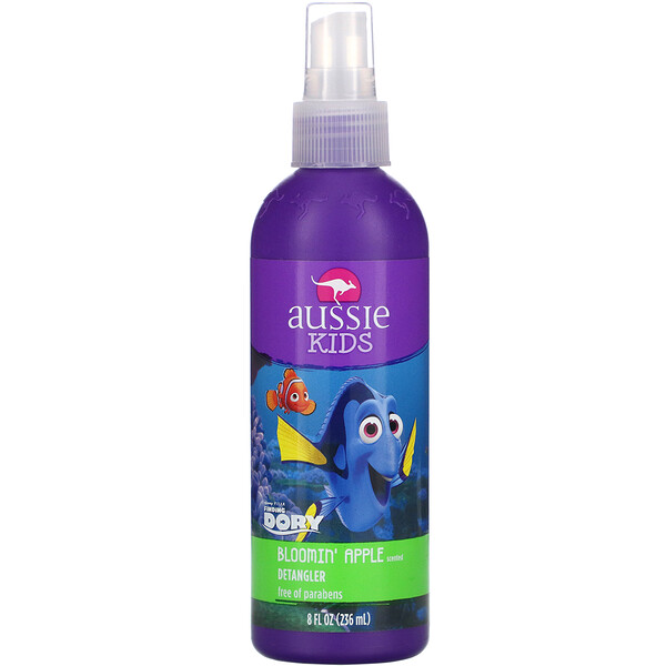 Kids Bloomin' Apple Detangler, Dory, 8 fl oz (236 ml)