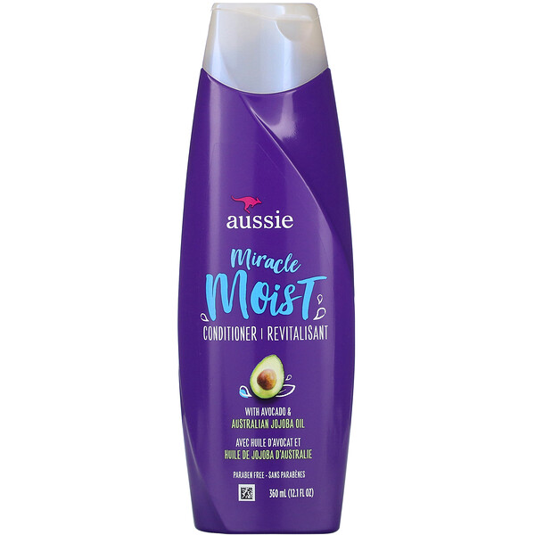 Aussie, Miracle Moist, Conditioner, Avocado & Australian Jojoba Oil, 12.1 fl oz (360 ml)