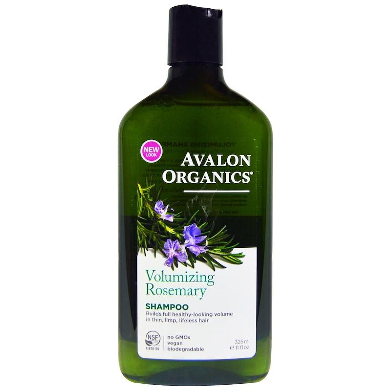 Shampoo, Volumizing, Rosemary, 11 fl oz (325 ml)