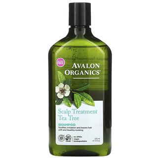 Avalon Organics, 茶树精油头皮调理洗发水,11 液量盎司(325 毫升)