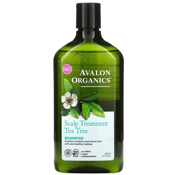 Shampoo, Scalp Treatment, Tea Tree, 11 fl oz (325 ml)