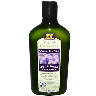 Avalon Organics, Conditioner, Nourishing, Lavender, 11 oz (312 g)