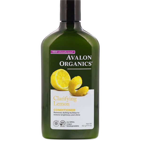 Avalon Organics, Conditioner, Clarifying Lemon, 11 oz (312 g