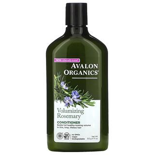 Avalon Organics, Conditioner, Volumizing, Rosemary, 11 oz (312 g)