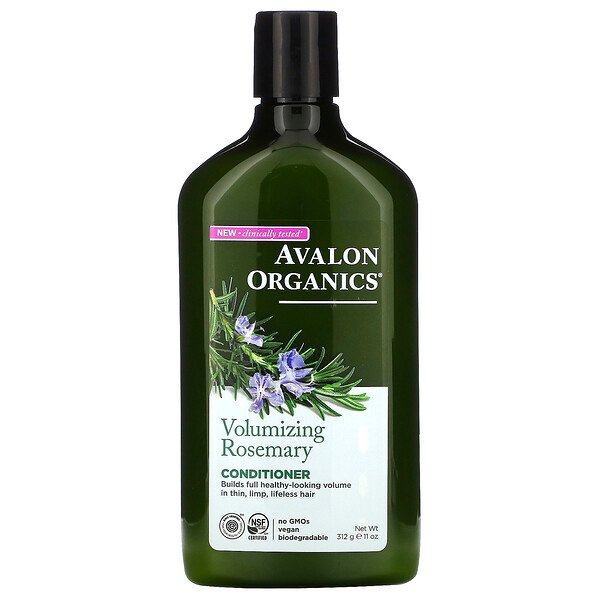 Conditioner, Volumizing, Rosemary, 11 oz (312 g)