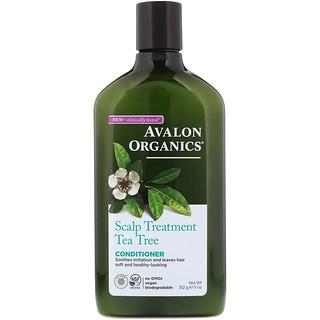 Avalon Organics, Conditioner, Scalp Treatment, Tea Tree, 11 oz (312 g)