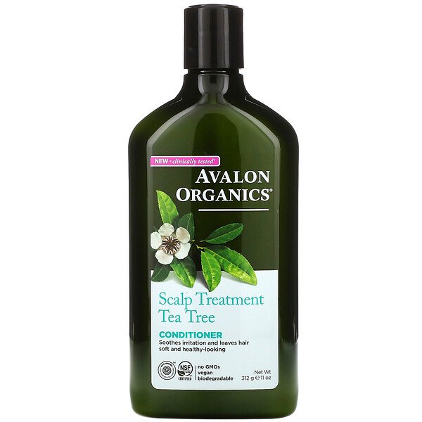 Avalon Organics, Conditioner, Scalp Treatment, Tea Tree, 11 oz (312 g)