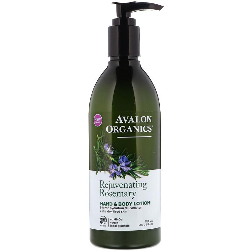 Hand & Body Lotion, Rejuvenating Rosemary, 12 oz (340 g)