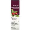 Avalon Organics, תחליב גוף ממצק, טיפול לקמטים המכיל CoQ10 וורד הבר, 227 גרם (8 אונקיות)