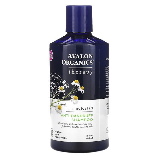 Anti-Dandruff Shampoo, Chamomilla Recutita, 14 fl oz (414 ml)