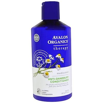 Купить Avalon Organics Кондиционер против перхоти, Ромашка аптечная, 397 мл (14 ж. унций)