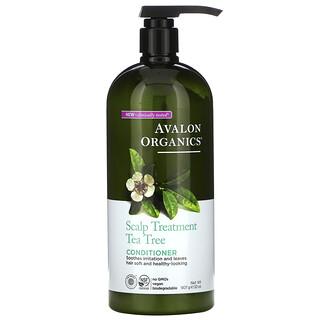Avalon Organics, Scalp Treatment Conditioner, Tea Tree, 32 oz (907 g)