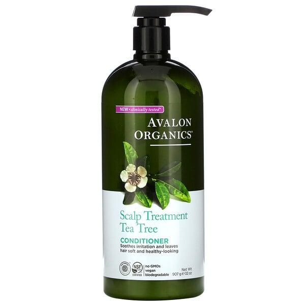 Scalp Treatment Conditioner, Tea Tree, 32 oz (907 g)