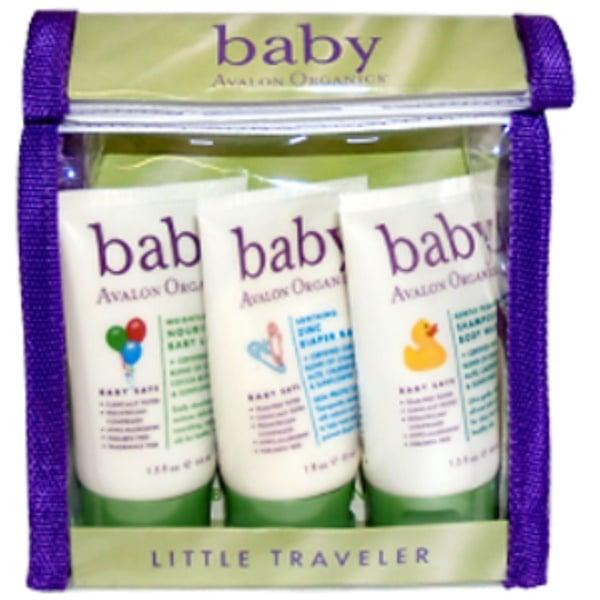 Avalon Organics, Baby Little Traveler, 3 Pieces Kit (Discontinued Item)