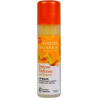 Смягчающий бальзам для губ с витамином C, 0,25 унции (7 г)