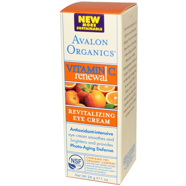 Vitamin C Renewal, Revitalizing Eye Cream, 1 oz (28 g)
