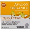 Avalon Organics, Intense Defense, With Vitamin C, Oil-Free Moisturizer, 2 oz (57 g)