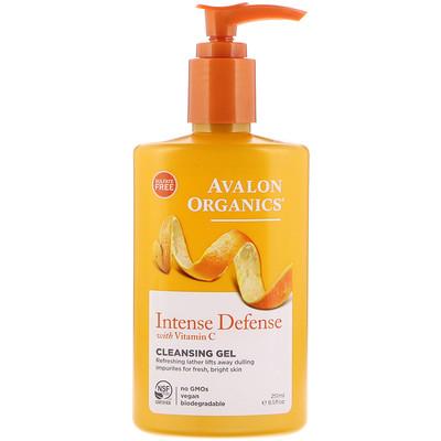 Intense Defense с витамином С, очищающий гель, 251 мл