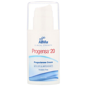 AllVia, Progensa 20, Progestrone Cream, 4 oz (113 g) отзывы