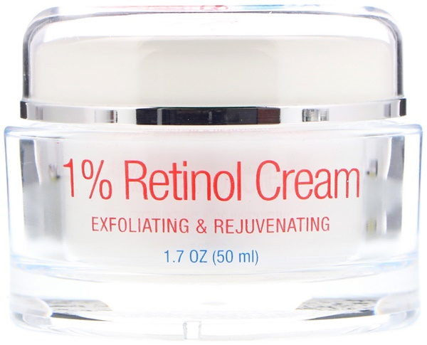 AllVia, 1% Retinol Cream, 1.7 oz (50 ml) (Discontinued Item)