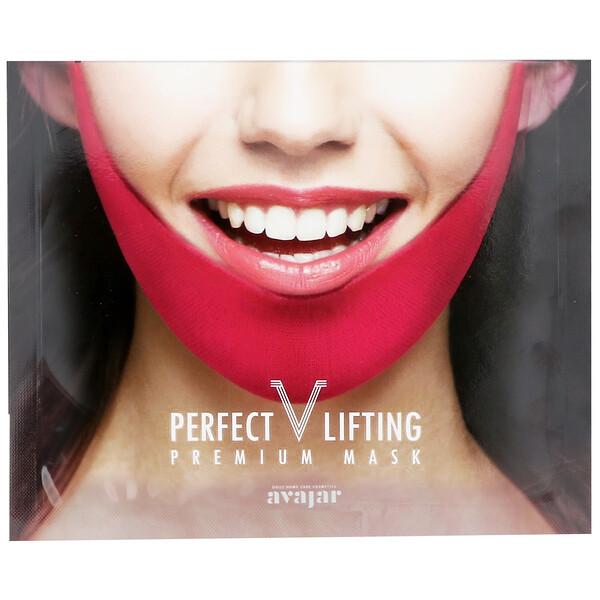 Avajar, Perfect V Lifting Premium Mask, 1 Mask (Discontinued Item)