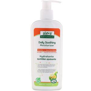 Алева Натуралс, Daily Soothing Moisturizer, 8.0 fl oz (240 ml) отзывы покупателей