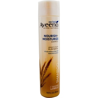 Aveeno, Active Naturals, Nourish+Moisturize Shampoo, 10.5 fl oz (311 ml)