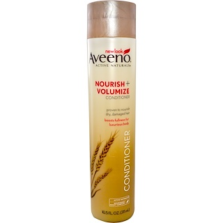 Aveeno, Active Naturals, Nourish+, Volumize Conditioner, 10.5 fl oz