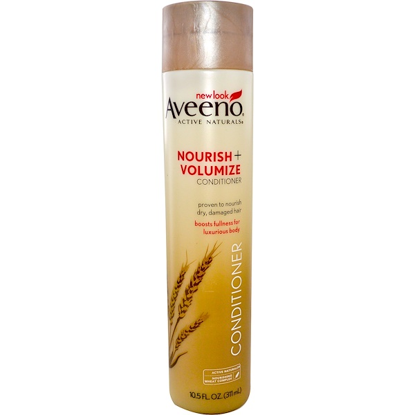 Aveeno, Active Naturals, Nourish + Volumize Conditioner, 10.5 fl oz (311 ml)