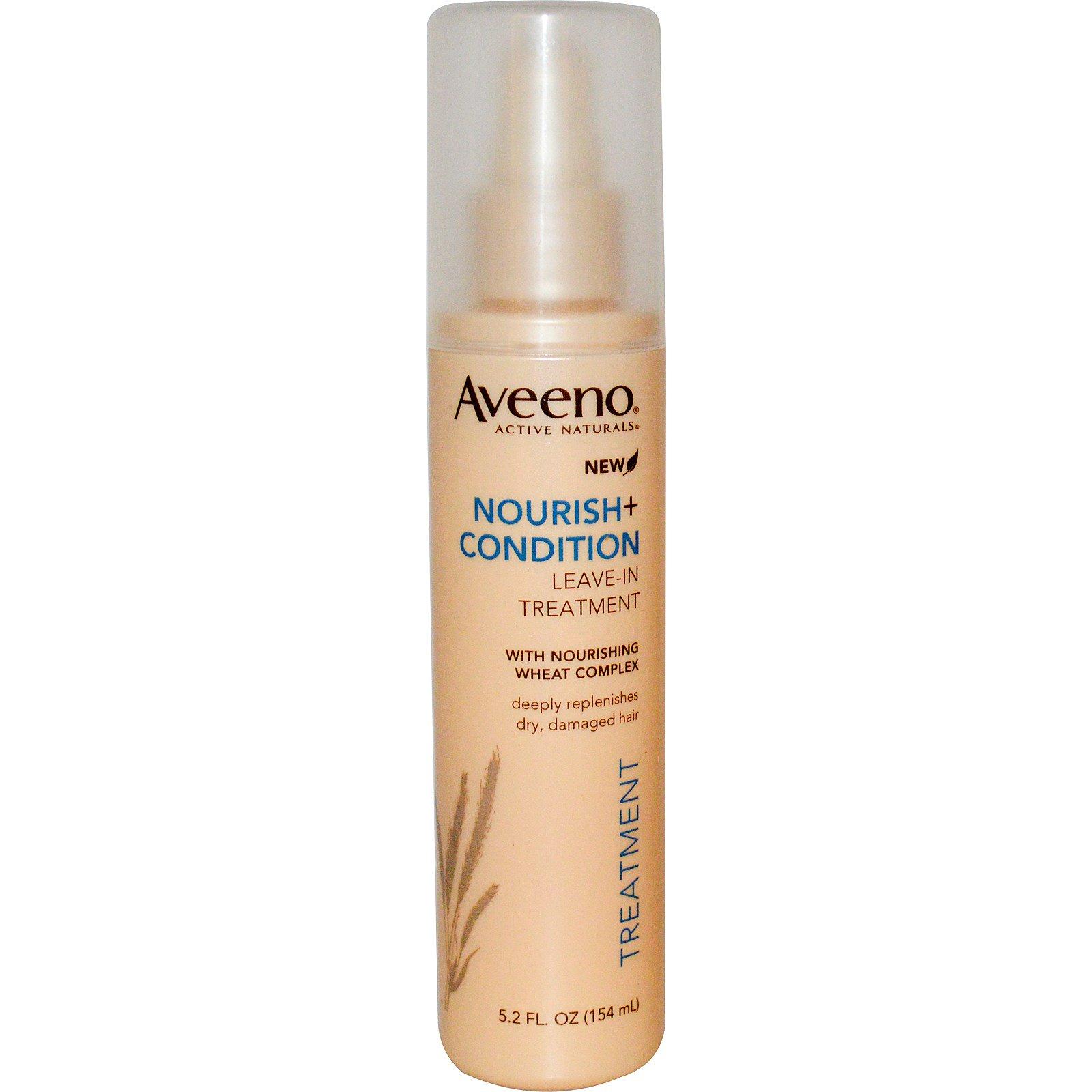Aveeno, Active Naturals, Nourish + Condition, Leave-In Treatment, 5.2 fl oz (154 ml)