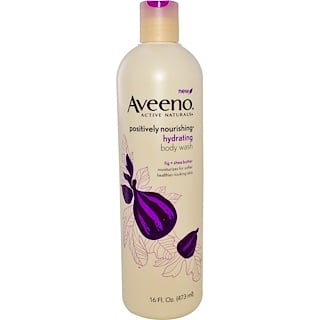 Aveeno, Active Naturals, Positively Nourishing, Hydrating Body Wash, 16 fl oz (473 ml)