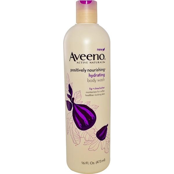 Aveeno, Active Naturals, Positively Nourishing, Ultra Hydrating Body Wash, 16 fl oz