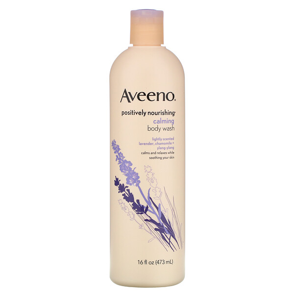 Aveeno, Active Naturals, Positively Nourishing, Calming Body Wash, 16 fl oz (473 ml)